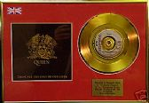 QUEEN - THESE ARE THE DAYS OF...  -  Gold Disc+cover